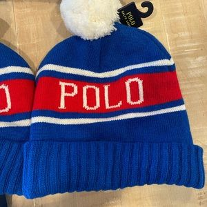 Ralph Lauren polo men's beanie hat. NEW With tags